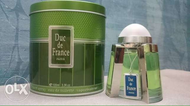 DUC DE FRANCE For Men 100 ml Green - blue - silver عين شمس -  1