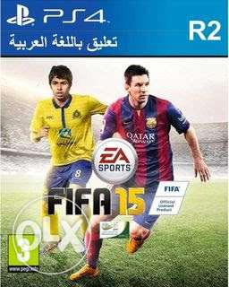 Ps4 Fifa15 arabic commentary