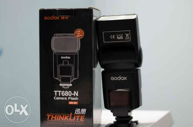 Flash godox ttl680 for nikon