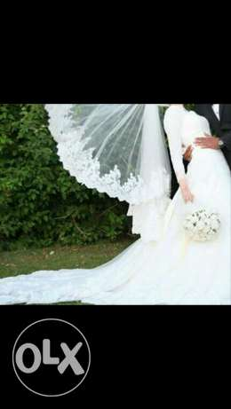 Wedding dress for rent العبور -  3