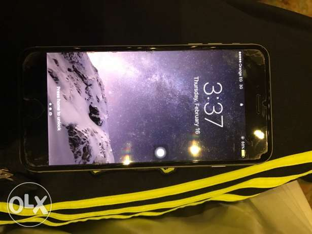 iPhone 6 Plus 64GB space gray with FaceTime مدينة الرحاب -  1