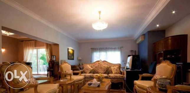 Fully-furnished villa located in 'Belle Ville Compound'