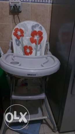 Gracco High chair مدينتي -  1