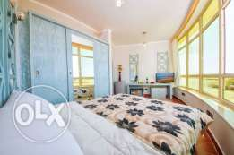 Fantastic price! Furnished studio with the private beach!