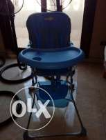 Baby high eating chair (blue)
