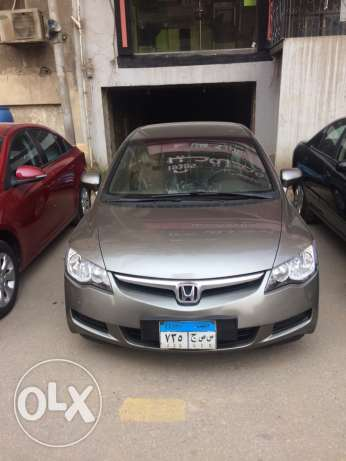 Honda Civic 2008 الهرم -  1