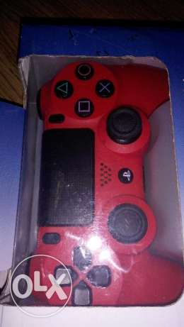 Ps4 New Red Controller