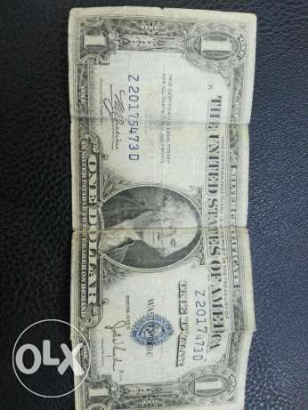 1 US dollar bill since 1935