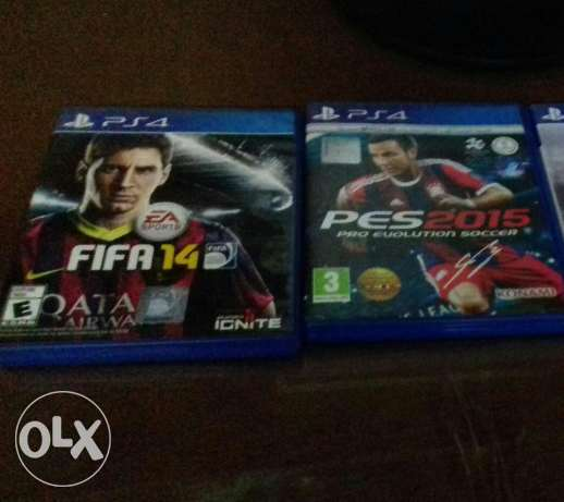 Pes 2015 and fifa 2014 ps4 for sale or trade