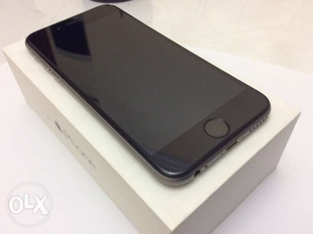 iPhone 6 64gb Space Gray excellent condition المنتزه -  1