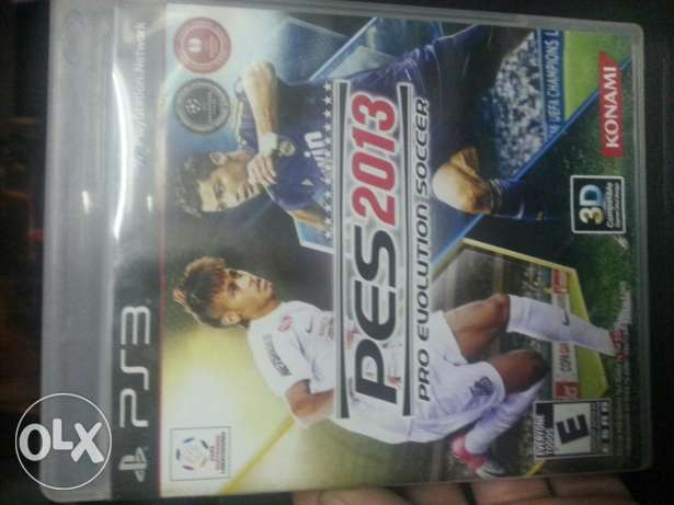 cd pes 2013 play station 3