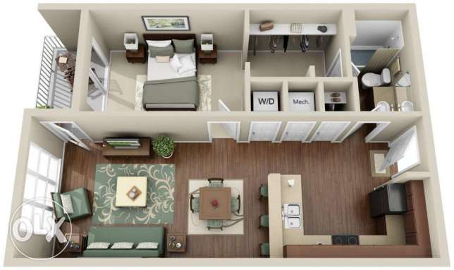 interior design architecture مركز الجيزة -  1