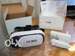 VR BOX with remote
