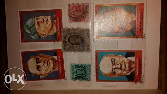 Rare old collection of stamps