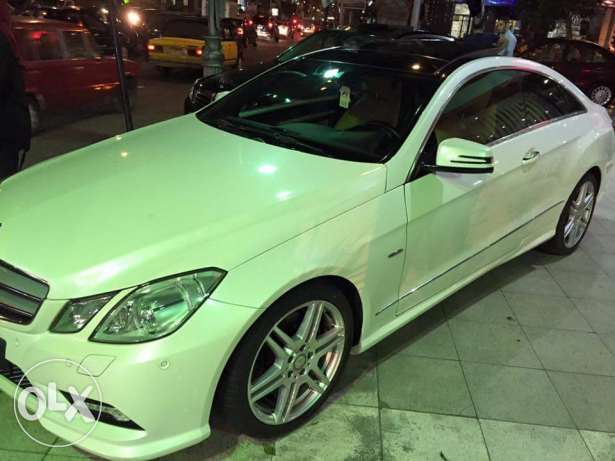 2011 E250 coupe Amg white panorama الإسكندرية -  3