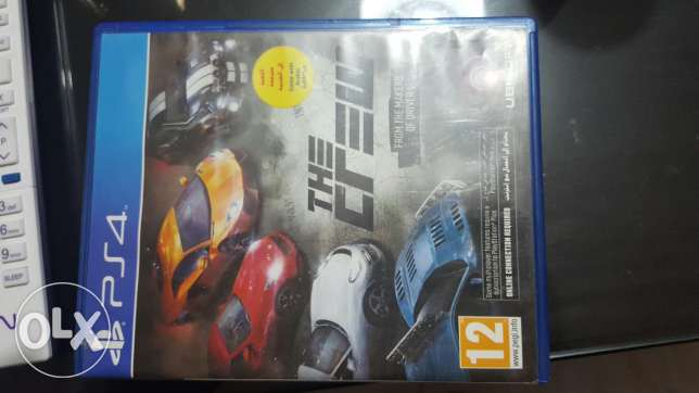 The crew game PS4