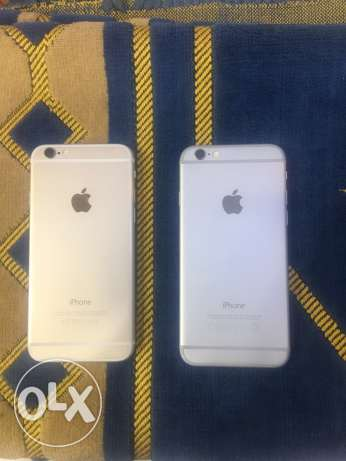 iphone 6 16G. Gold / silver الزمالك -  2