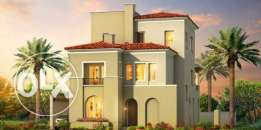 Standalone villa for sale in Uptown Cairo Levana prime location