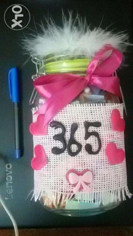 "The ""365 why I love you"" Jar"