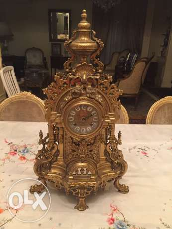 Set of 2 chandlery and a clock شيراتون -  2