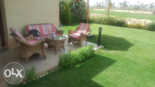 Chalet for rent in little venice golf resort ain sokhna