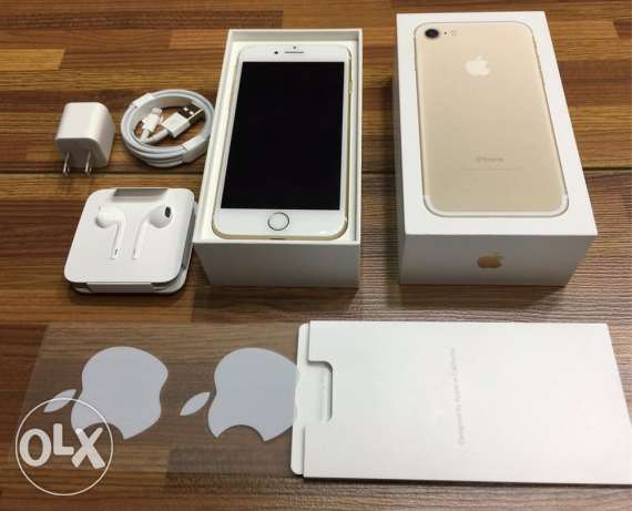 iPhone 7 gold 32g gold As new