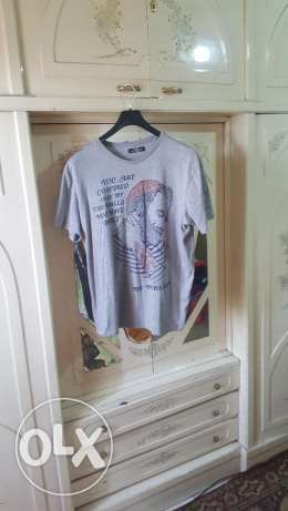 عدد 3 تيشيرت Bershka 3 T-Shirts Original Not Used