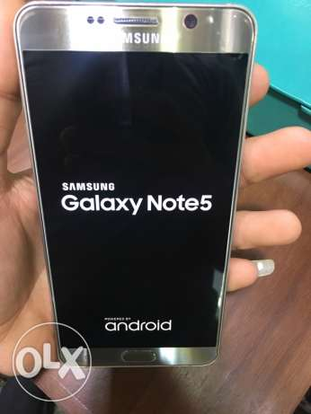 Samsung Galaxy Note 5 / Gold 32G /Good Condition / No Scratches
