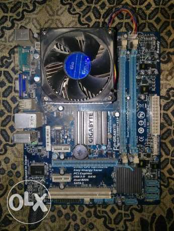 Gigabyte G41+Intel Core 2 Quad Processor Q8300 + Ram 4 Giga
