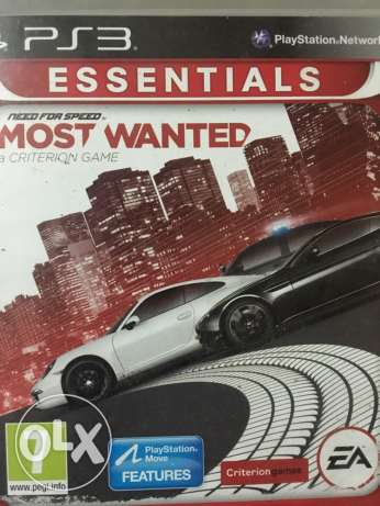 most wanted PS3 for sale used الوراق -  1