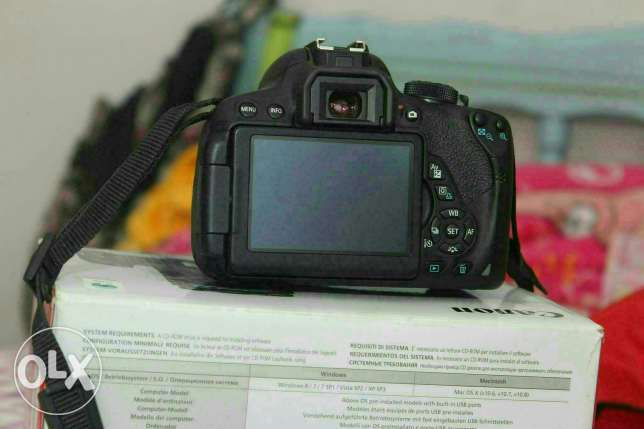 Canon 700 d package بنها -  2