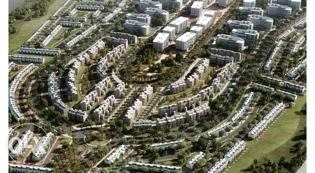 alborouj capital properties town middle fully finished 245m, 8 years