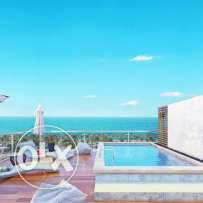 Chalet in White bay prime location ,bahary and corner 102 sqm