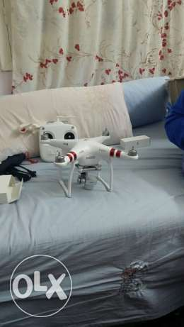Dji phantom 3 professional new + GPS extra battery and more optionح