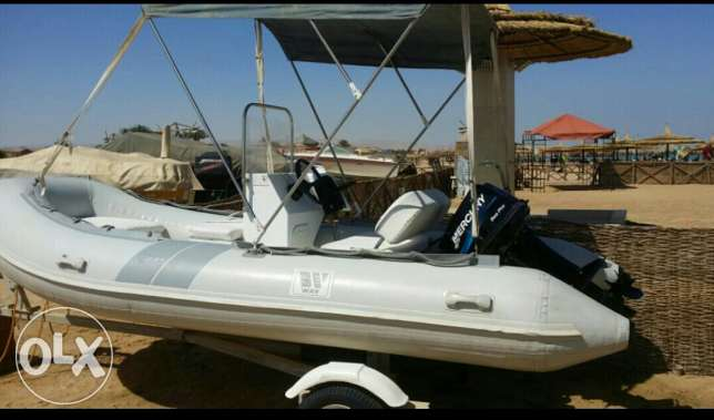 زودياك 420cm wave 25 hp mercury العين السخنة -  3