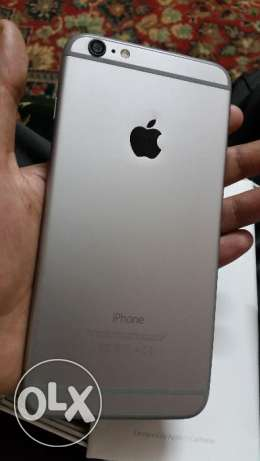 Iphone 6plus 128 g space gray