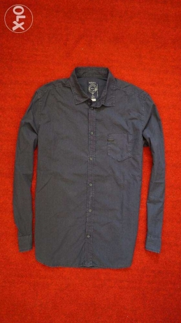 diesel shirts blue black XL/ قميص ديزل اوريجنال