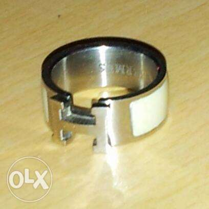 Hermes ring ,High Copy ,Stainless steel(size 8)