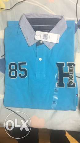 Original Tommy Hilfiger tshirt size large and xlarge for 750 LE