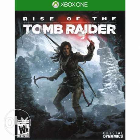 Rise Of Tomb Raider XBox One CD