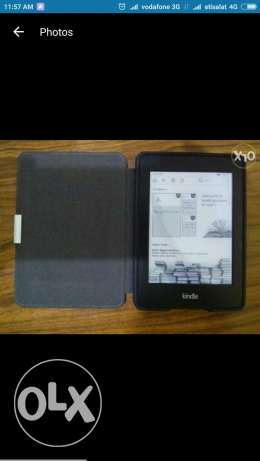 Kindle Paperwhite 2 with Laser Sensor Cover