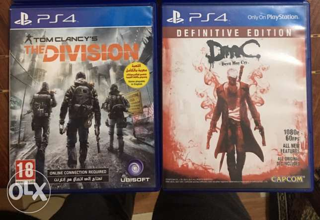 The division Arabic & Devil May Cry PS4