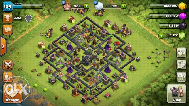 Clash of clans and clash royale gmail account