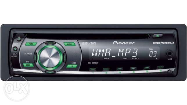 Brand new Pioneer car CD/Radio/MP3/Aux. from USA