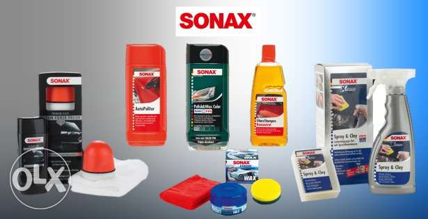 SONAX .. for your car ... all things from sonax