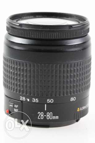 Canon Zoom Lens EF 28-80mm 28-80 mm 3.5-5.6 EOS