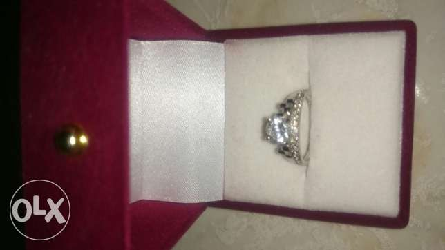New silver ring