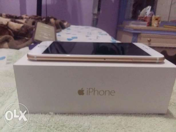 I phone 6 plus gold as new
