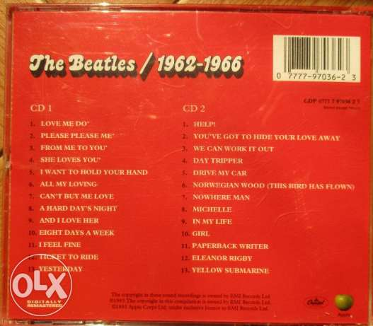 The Beatles Collection 2CDs مصر الجديدة -  5