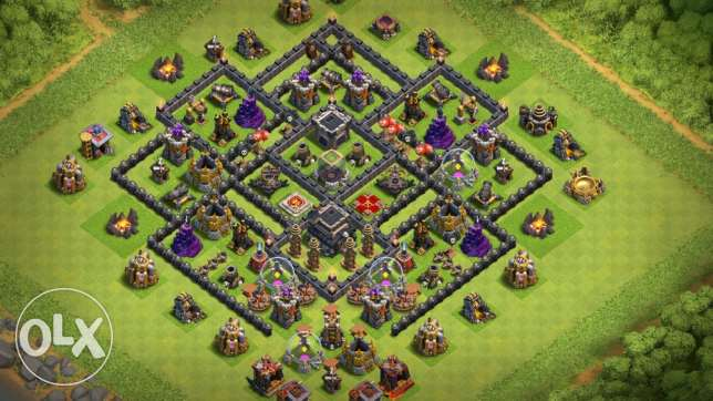 Clash Of Clans Town Hall semi 10 (Max 9)